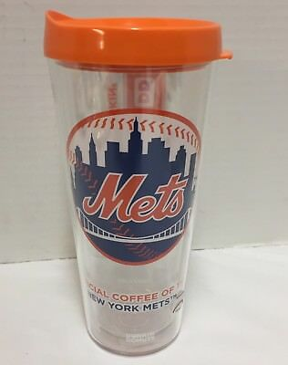New Dunkin Donuts Coffee Cup New York Mets Spring Tritan Tumbler