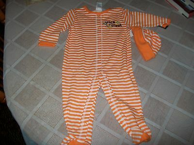 NWT Halloween Trick Or Treat 3 Piece Outfit Size 9 Months