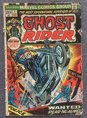 Ghost Rider #1 Comic Book (1972) Free Ship on Additional!