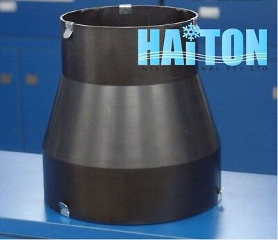 200mm-150mm PLASTIC DUCT REDUCER/HVAC DUCT REDUCER/REDUCER FITTING