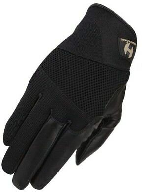 (8, Black) - Heritage Tackified Polo Glove. Heritage Products. Best Price