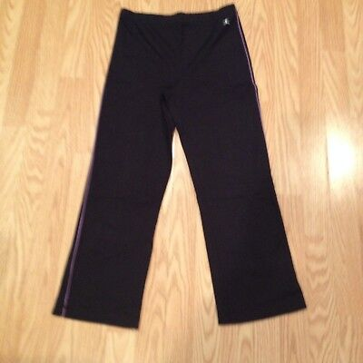 DANSKIN YOGA PANTS Stretchy Women Black Small S