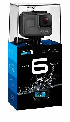 GoPro HERO 6 HERO6 Black Action Camera - Camcorder Waterproof Rugged