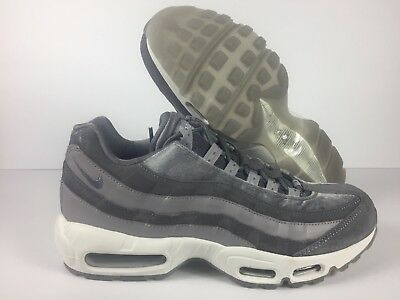 NIKE AIR MAX 95 LX Gunsmoke Grey Suede Leather (AA1103 003) Sz W 11M 9.5