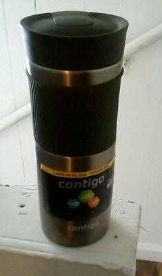 Contigo SnapSeal Byron Vacuum Insulated Stainless Steel Travel Mug 20oz OR 16 Oz