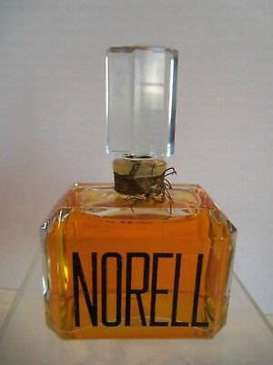 New Vintage Norell  Cologne Factice dummy rare 3&7/8 inch bottle display