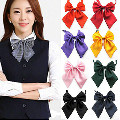 Fashion Unique Womens Ladies Girls Satin Novelty BIG Bow Tie Wedding Gift
