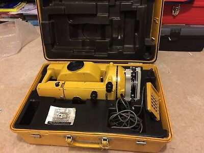 Topcon GTS 2B Total Station in Case pre-owned