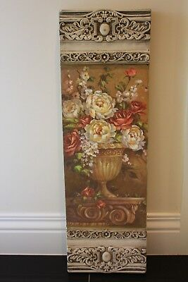 Wall Art Resin  Baroque Frame Plaster Print