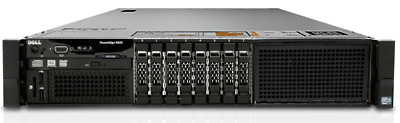Dell PowerEdge R820 Rackmount - 4x Intel E5-4607 2.2GHz - 192GB DDR3 Memory