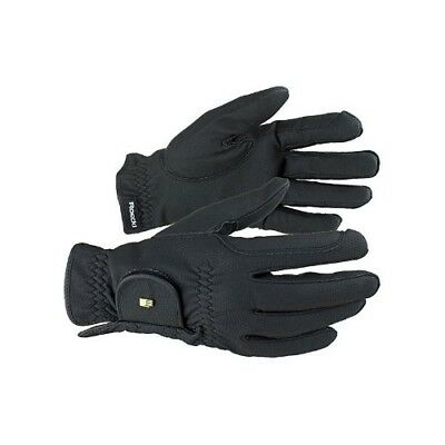 (Navy, 9.5) - Roeckl - riding gloves ROECK GRIP. Free Delivery