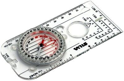 Silva Compass 4 Militaire - 6400/360. Shipping is Free