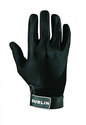 (Large, Black) - Dublin All Seasons Riding Gloves. Free Delivery