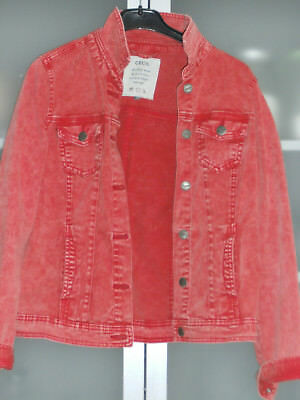 cecil jeans Jacke rot s