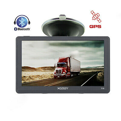 XGODY 7 inch car truck gps navigation HD display navigator with free map SAT NAV