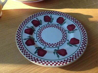 Irish Pottery Nicholas Mosse Red Apples Side Plate