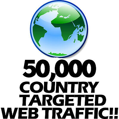 50,000 Keyword Targeted Country Traffic Based Visitors Views - Boost Your SEO