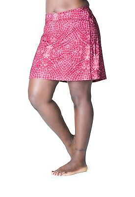 (Medium, Flyaway Print) - Skirt Sports Women's Happy Girl Skirt