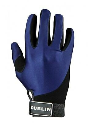 (Small, Navy) - Dublin All Seasons Riding Gloves. Brand New