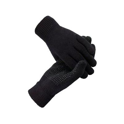 (Black) - Horze Magic Gloves. Delivery is Free