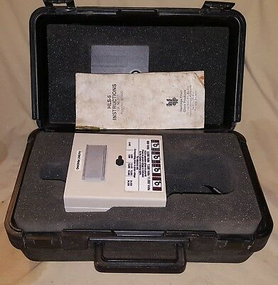 HASTING HLS-5 HIGH Voltage Hot Line Indicator 6701 Equipment Meter