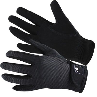 (Size 8.5, Black) - Woof Wear Grand Prix Riding Glove. Shipping Included