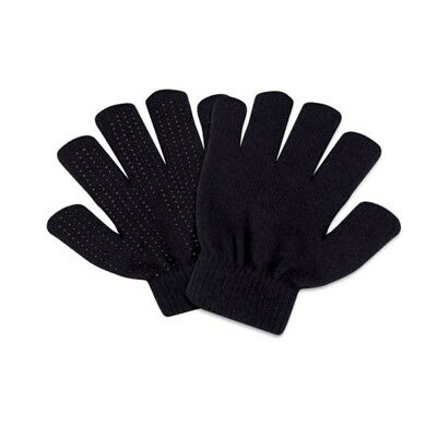 (One Size, Black) - Perri's Magic Gloves, One Size. Shipping is Free
