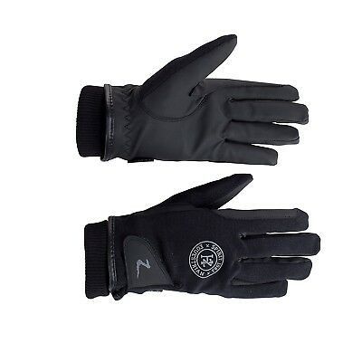 (7, Black) - Horze Rimma Winter Gloves. Shipping is Free