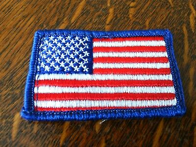Boy Scouts of America Patches 2 x USA Flag Shirt Embroidered Badges Patch BSA
