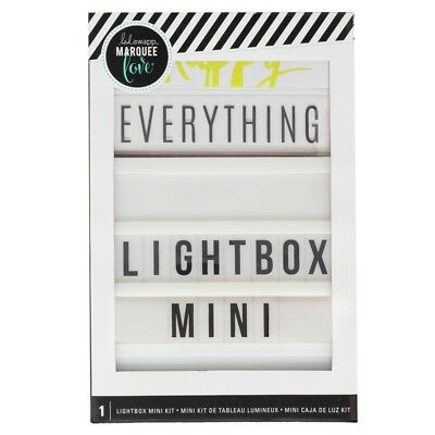 American Crafts Heidi Swapp Mini Lightbox Display Event Decoration Scrapbooking