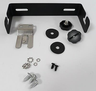 Mounting Bracket With Mic Clip + Side Screws For Tti Tcb550N & Other Cb Radios