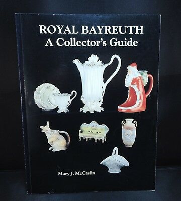 Antique reference book Royal Bayreuth A Collector's Guide by Mary McCaslin