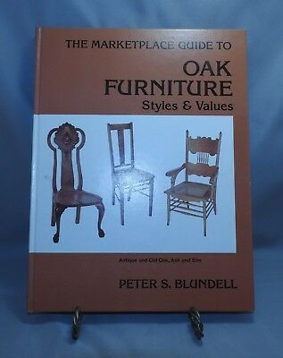 Antique reference book The Marketplace Guide to Oak Furniture Styles & Values