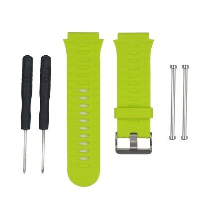 (Lime) - HWHMH Soft Adjustable Silicone Replacement Wrist Watch Band for