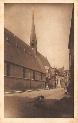 France Beaune - Hotel-Dieu, Facade principale, bicycles, bikes CPA