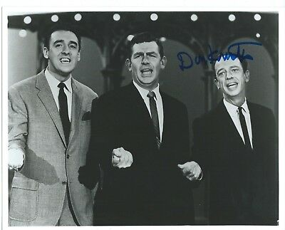 "DON KNOTTS Hand Signed 8x10"" Autographed Photo w/COA - MATLOCK"