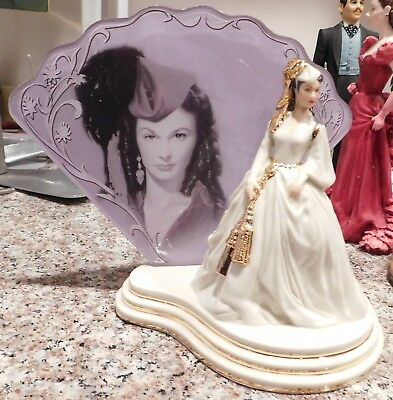 Scarlett O'Hara A Legend Brought To Life Porcelain GWTW  Woman of Courage Figure