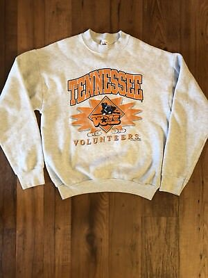 VIntage University of Tennessee Volunteers Sweatshirt crew neck throwback logo
