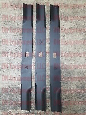 Set of Three (3) Blades for Buhler Farm King K-72 Part Number 966738