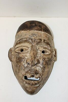 Yaqui Mexican Cactus Wood Mask
