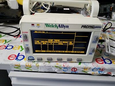 Welch Allyn ProPaq Encore Patient  Monitor  206 EL  power supply NOT INCLUDED