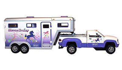 Breyer Stablemates Horse Crazy Truck and Trailer Vehicle NEW, Free Shipping