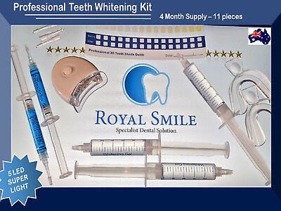 Great VALUE KIT Teeth WHITENING Dental Oral Smile Bleach CARBAMIDE PEROXIDE 18%