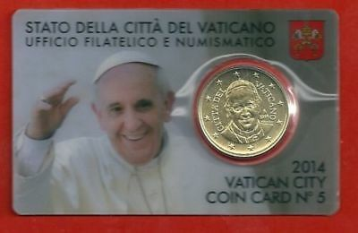 Vaticano 2014 - Coin Card N. 5 Papa Francesco