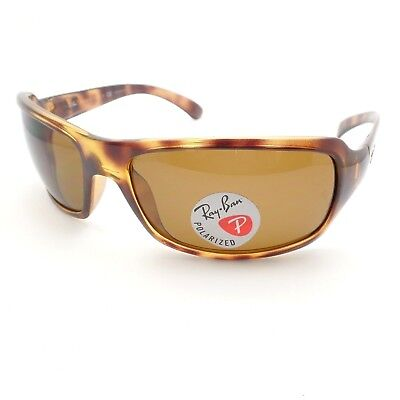 c82ef780b6 RAY BAN 4068 642 57 Havana 60 Brown Polarized Sunglasses New ...