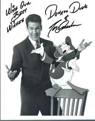 "TONY ANSELMO Hand Signed 8x10"" Autographed Photo w/COA - VOICE OF DONALD DUCK"