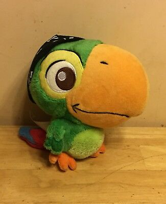 Disney Store Jake And The Neverland Pirates Plush Toy Skully