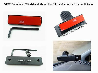 NEW Permanent Windshield Mount For The Valentine 1, V1 Radar Detector Buy It Now