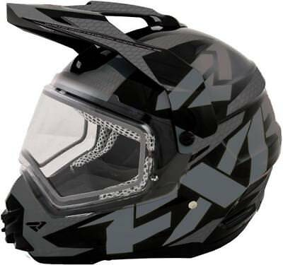 FXR Torque X Electric Shield Snow Helmet Charcoal/Black (SIZES XS/S)