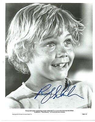 "RICKY SCHRODER Hand Signed 8x10"" Autographed Photo w/COA - THE CHAMP"